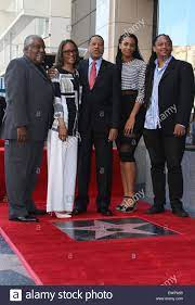 Larry Elder receives a star on the ...
