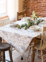 dining room table cloth. Felicity\u0027s Flowers Tablecloth | April\u0027s Attic Sale, Linens \u0026 Home Markdowns :Beautiful Designs By April Cornell Dining Room Table Cloth O