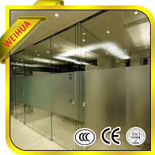 china pvc tempered glass door from manufacturer china pvc tempered glass door