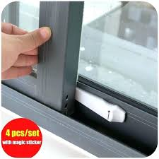 patio door safety lock sliding door safety lock set protecting baby safety security lock adhesive sliding patio door safety