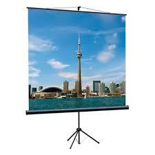<b>Экран</b> на штативе <b>Lumien Eco View</b> 127x127см (раб.область ...