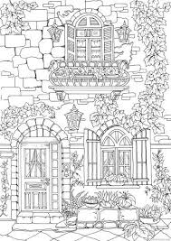 Fancy Exterior Coloring Pages Coloring Pages Printable Adult