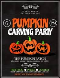Pumpkin Carving Contest Flyers 1 000 Customizable Design Templates For Pumpkin Carving Contest