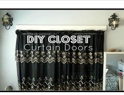 DIY Closet Curtain Doors │ Cheap Easy Room Decor - YouTube