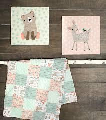 nursery fabric panel 36 u0027 u0027x43 u0027 u0027 woodland animal wall