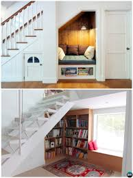 understair reading nook 20 build in ideas to use space under stairs