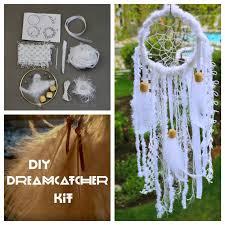 Make Your Own Dream Catcher Kit White DIY Dream Catcher Kit Make your own by SloanDreamKits 5