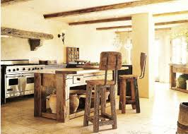Brilliant Rustic Kitchen Island Bar of Rustic Reclaimed Wood Counter