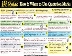 Quotation Marks And How To Use Them