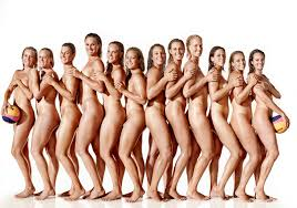 Naked womens water polo team