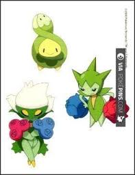 Nice Roselia Pokemon Budew Roselia Temporaray Tattoo By