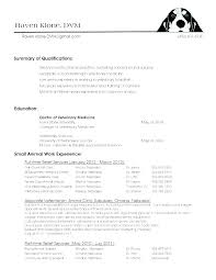 Veterinary Resume Awesome Veterinary Technician Resume Examples Simple Resume Examples For Jobs