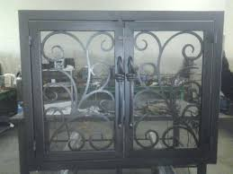 fireplace screens with doors brilliant iron fireplace screens custom fireplace screens doors iron elite within custom fireplace screens