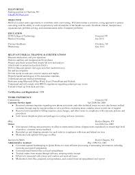 Teacher Assistant Resume Sample With Objective For Medical