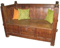 Bench Made From Old Teak Antique Wooden52