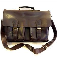 oxford leather briefcase from leyden and sons leather bag company men s fashion bags wallets on carou