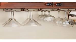 under cabinet wine glass rack emergency homes holder ikea wall chandelier bar mini storage cabinets