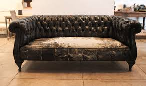 chesterfield furniture history. Swedish Black Leather Chesterfield Sofa, Circa 1930 At 1stdibs Furniture History .