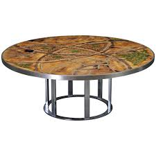 poul cadovius lilly just lichtenberg circular coffee table for