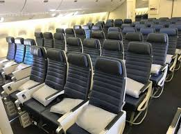 United 777 222 Seating Chart Review Across The Pond In Uniteds Shrinking Economy Seat