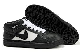 nike 6 0 skate shoes. nike 6.0 mavrk mid 2 black leather white skate shoes 6 0