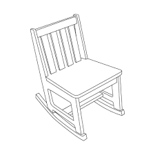 rocking chair drawing. Rocking Chair Drawing D