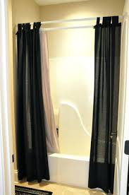 smlf bathroom shower curtains curtain rods