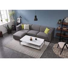 Adela Modular Sofa with Ottoman | Buy Sofas - 1532654