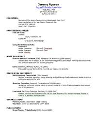 How To Write Good Job Resume First Cv Objective For A Professional