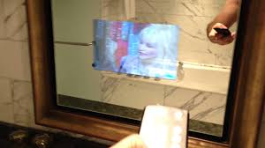 TV built-in to the Bathroom Mirror - Mar 14, 2013 - YouTube