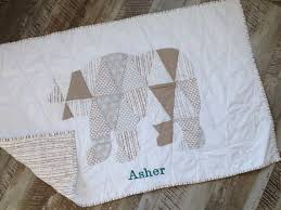 custom personalized baby boy quilt