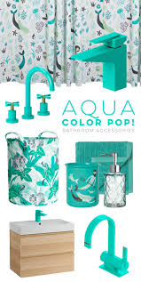 17 Best Ideas About Teal Bathroom Accessories On Pinterest Aqua Colored Bathroom Accessories
