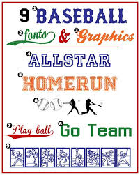 Free Sports Fonts Baseball Fonts Graphics The Best Of The Creative Exchange