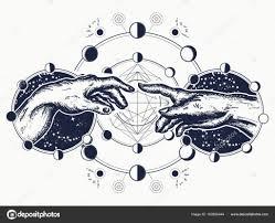 ᐈ тату руки микеланджело векторные изображения рисунок