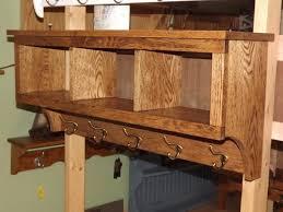 Oak Wall Coat Rack 100 Cub Coat Rack Storage Display Wall Shelf 1006quot Oak Storage Unit 90
