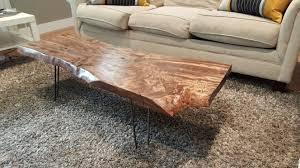 coffee table rustic walnut slab wood slabs for live edge coffee tables