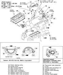 repair guides engine mechanical components cylinder head 2 exploded view of the cylinder head mounting and related components 1999 2 0l turbo engines