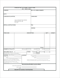 Word Bill Of Lading Template Bill Of Lading Template Word Bill Of Lading Bill Of Lading Form Word