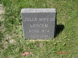 "Julia Anna ""Annie"" Peterson Borgen (1874-1901) - Find A Grave Memorial"
