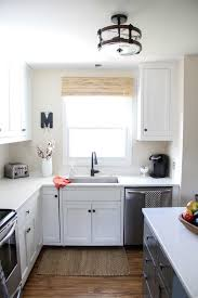 modern two tone painted kitchen cabinets 10