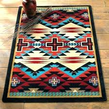southwest bathroom rugs southwestern create a luxurious look in your room with mainstays bath