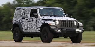 2018 jeep wrangler unlimited rubicon. exellent jeep 2018 jeep wrangler spy shots intended wrangler unlimited rubicon t