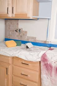 how to remove a tile backsplash cleanly