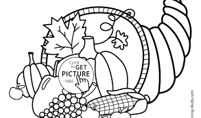 Coloring Pages For Preschoolers Thanksgiving Thanksgiving Coloring