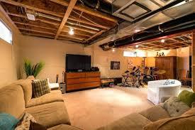basement idea. Inspirating Of Basement Half Finished Ideas Idea