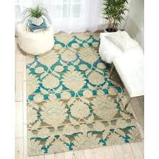 wool area rugs 5x8 house ivory teal wool area rug furniture s