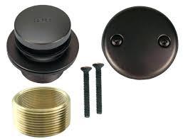 photo of bronze tub drain kit plumbing amp fixtures bathtub installation bathtub tub drain kit delta oil rubbed bronze
