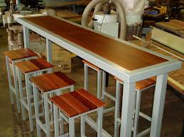 Narrow bar table Handmade Bespoke Bar Table Diy Outdoor Bar Table Kitchen Redo Kitchen Nook Kitchen Styling Pinterest Pin By Scot Peterson On Furniture Outdoor Bar Table Kitchen