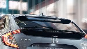 2018 honda civic hatchback. Wonderful 2018 Image Of 2018 Civic Hatchback Rear Roofline Spoiler Inside Honda Civic Hatchback