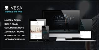 One Page Website Template Awesome 48 Themes And Templates With Video Backgrounds